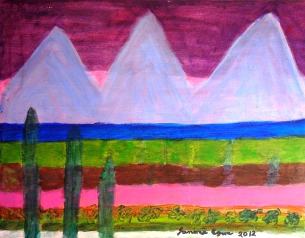 Three Peaks by Janine Egan