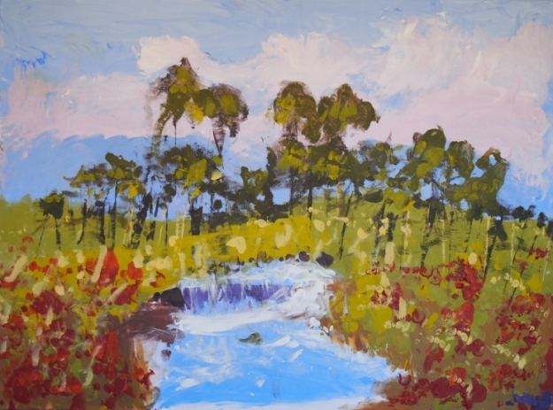 The Waterfall by Roslyn Burns