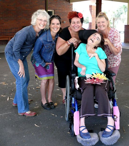 Helen Seiver, Wanda Ariano, Tracey Musham, Roslyn Burns, Billie Griffiths at Stirling Street Arts Centre