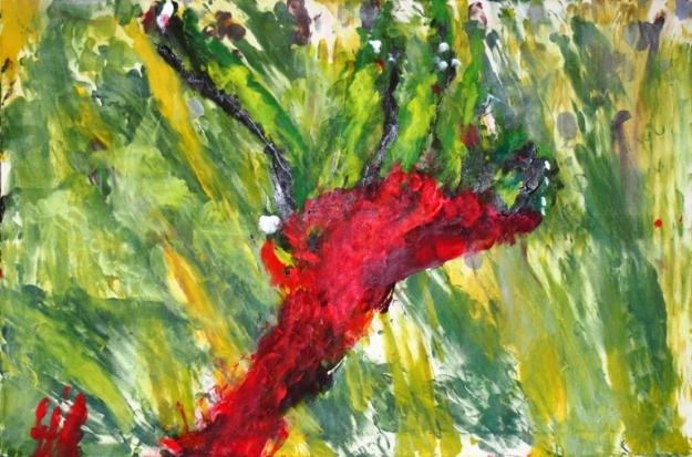 Kangaroo Paw by Roslyn Burns