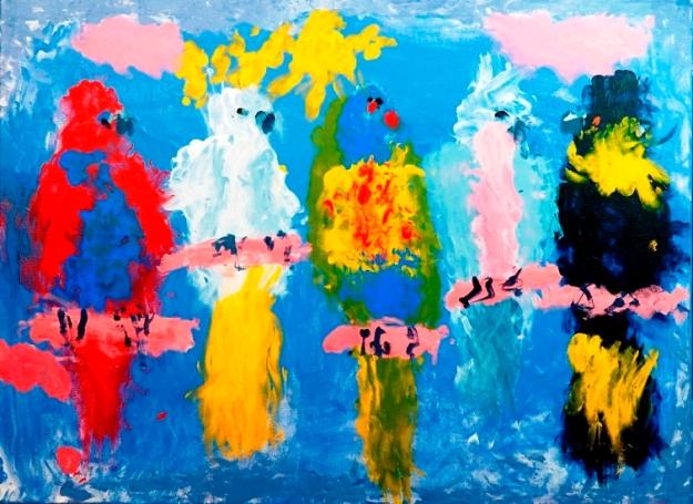 The Cockies by Roslyn Burns