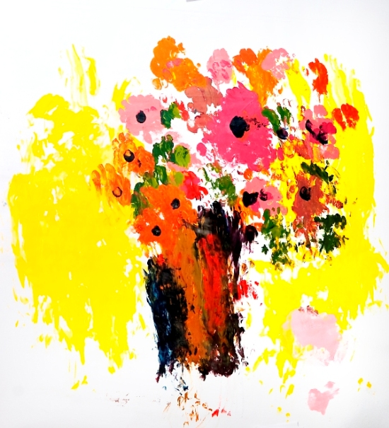 The Vase of Poppies by Roslyn Burns