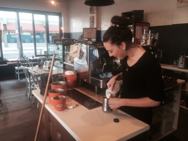 This Bunbury barista as photographed by David Gaudion is another excellent example of the rule of thirds