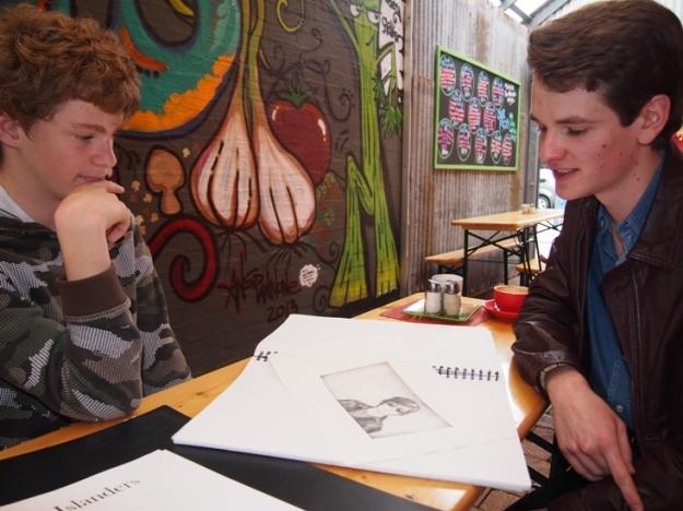 Daniel McLachlan with Sam Beard