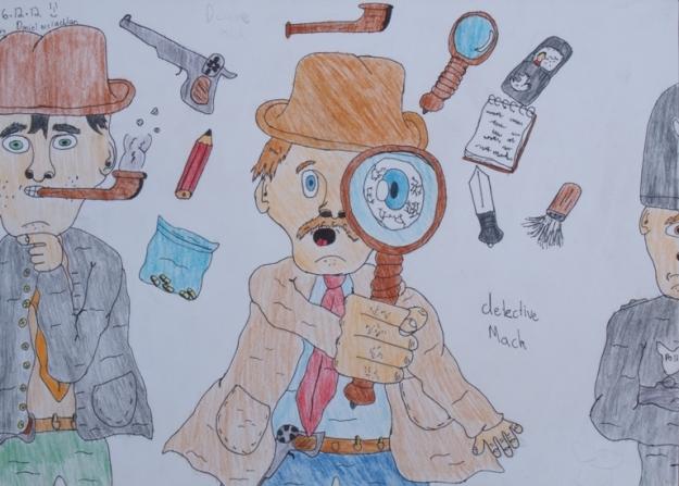 Detective Mack by Daniel McLachlan