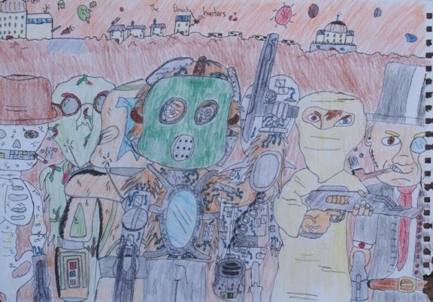 The Bounty Hunters by Daniel McLachlan