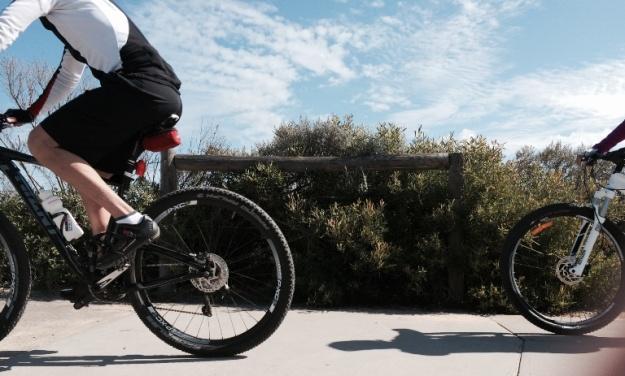 2 Bikes. Photo: David Gaudion