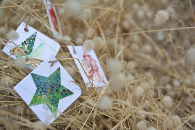 Gift Tags by Marguerite Aberle. Photo:  Carensa Werder