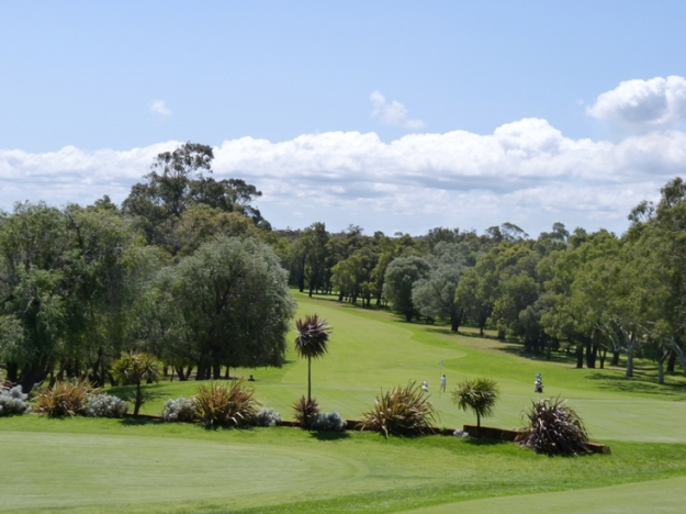 Golf Greens for ABC Open Snapped: Australian Landscapes. Photo by Sam Everitt