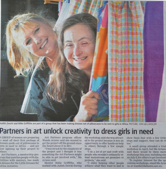 Billie Griffiths and Judith Zwickl on page 11 of the June 6, 2013 edition of the South Western Times