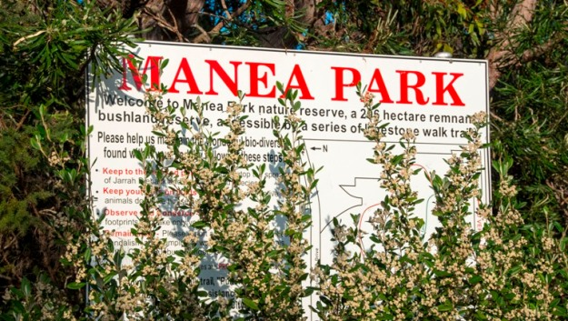 Manea Park entrance. Photo by Rob Cox
