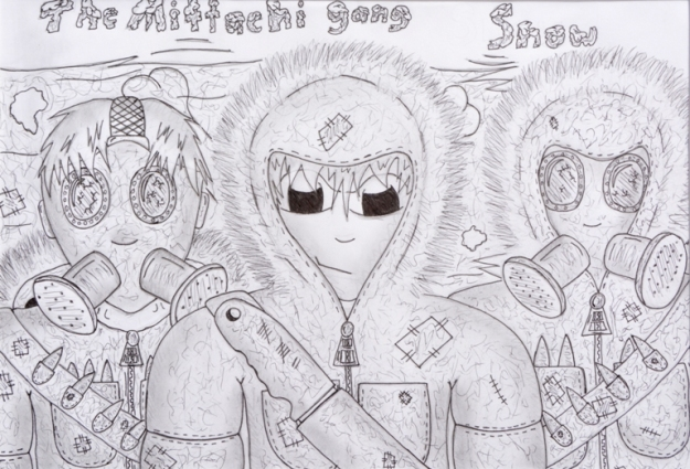 Snow - The Mittachi Gang by Daniel McLachlan. Photo by Carensa Watts