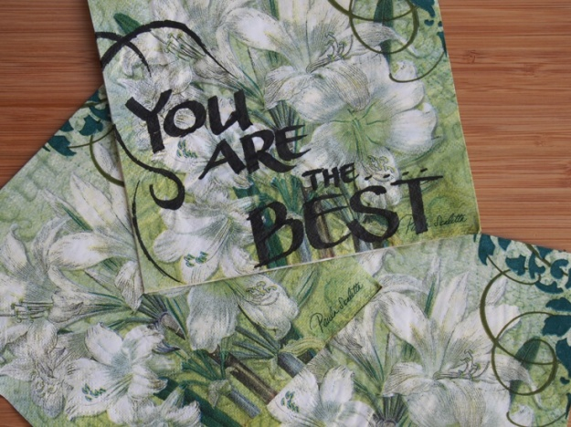 You are the Best by Christine Blowfield