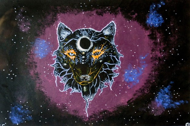 Galaxy Wolf by Jasmin Engstrom. Photo by Rob Cox