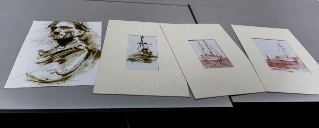 Works by Tom Ansell. Photo by Rob Cox